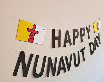 Happy Nunavut Day wishes images