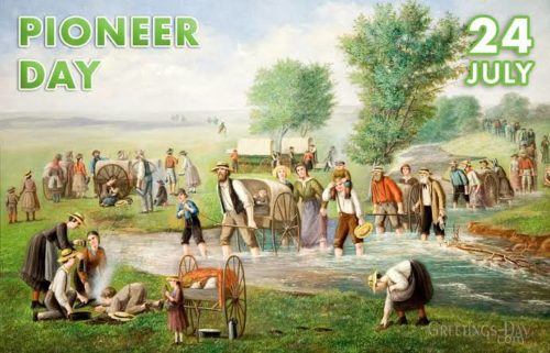 Happy Pioneer Day Utah wishes images 24 July