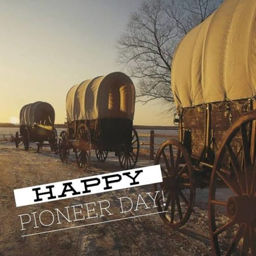 24 July Happy Pioneer Day Utah wishes images