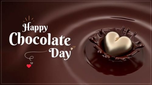 Happy Chocolate Day wishes photos