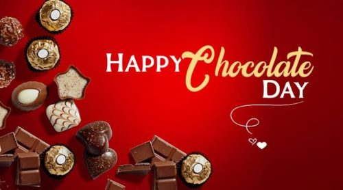 Happy Chocolate Day 2020 wishes photos