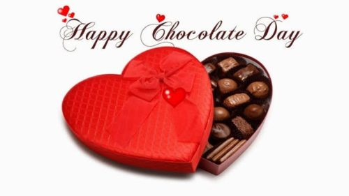Happy Chocolate Day 2020 wishes images for status