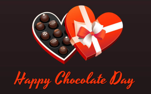 Happy Chocolate Day 2020 wishes images for Whatsapp status