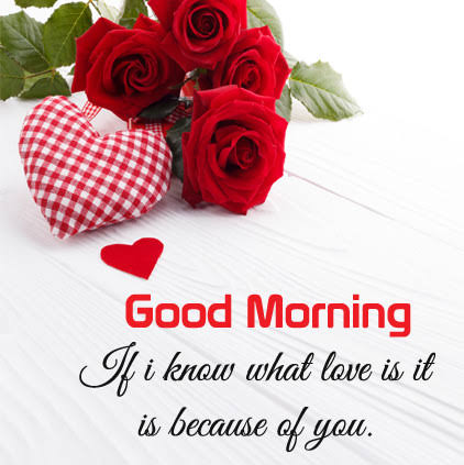 good morning my love sayings images