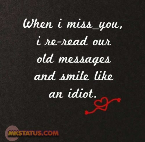 Miss You messages images for status