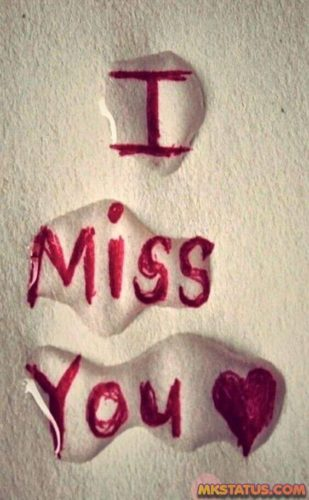 heart touching miss you images