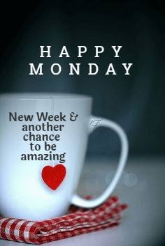 Monday Good Morning wishes messages photos