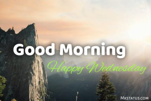 Happy Wednesday Good Morning wishes images for status