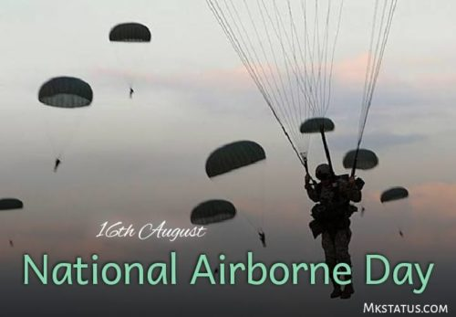 National Airborne Day wishes photos