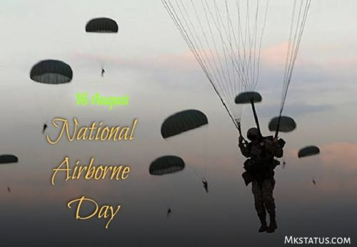 National Airborne Day wishes photos | 16th August