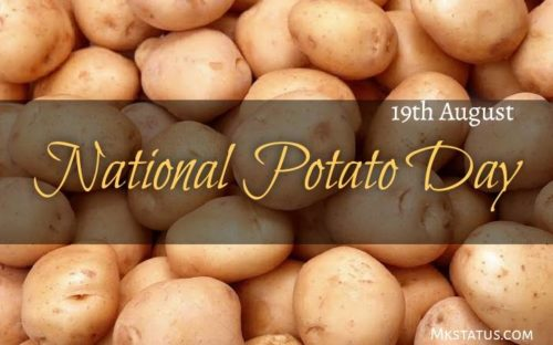National Potato Day 2020 wishes images | 19th August