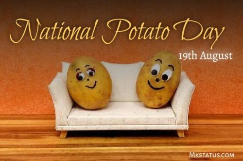 National Potato Day 2020 wishes images