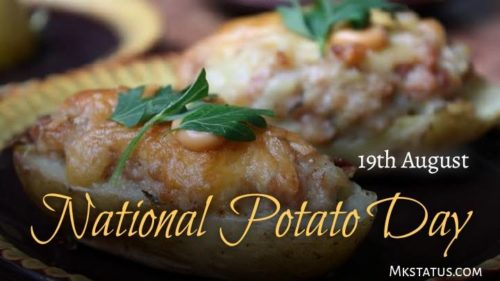 Download National Potato Day 2020 wishes images