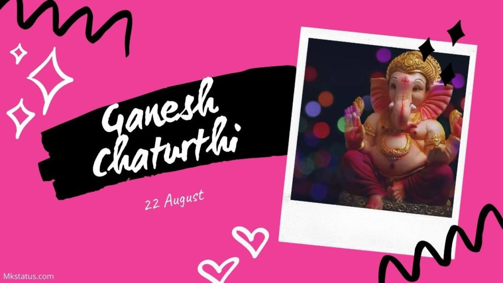Happy Ganesh Chaturthi image for status