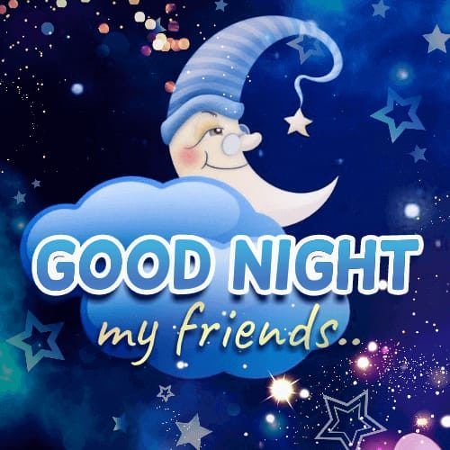 Good Night Sweet Dreams wishes images for friends