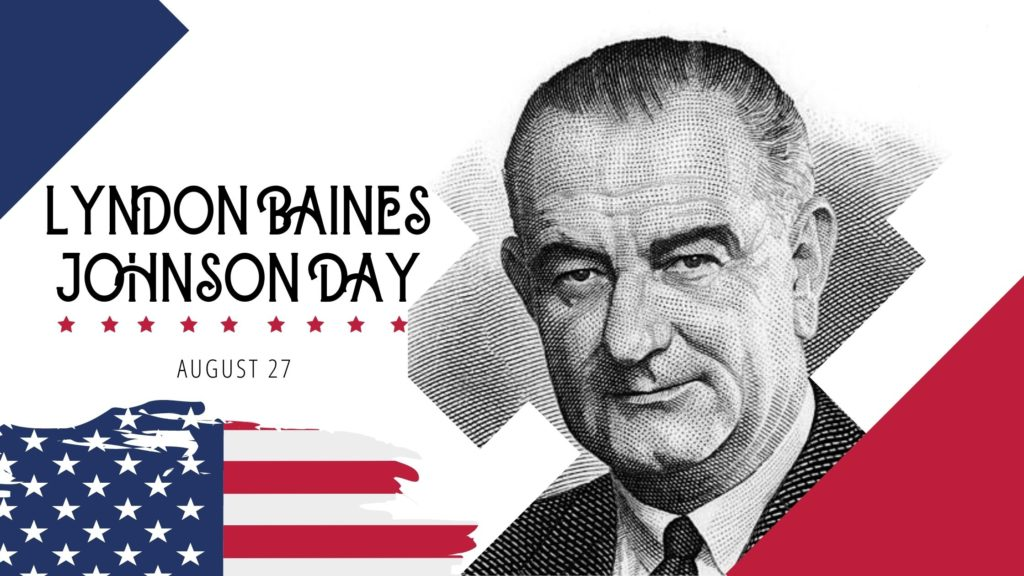 Lyndon Baines Johnson Day Wishes Images