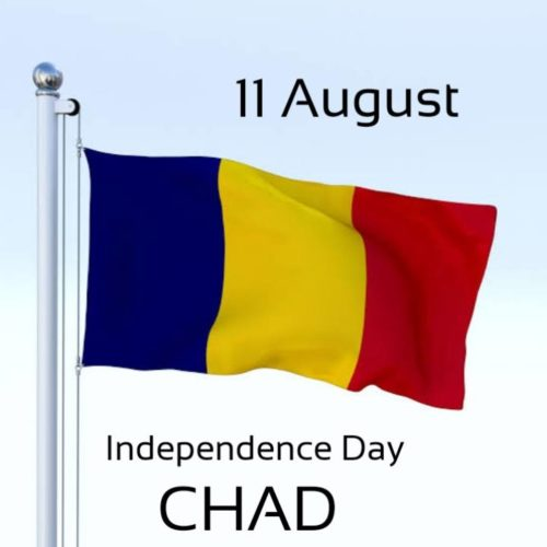 Happy Independence Day CHAD wishes photos