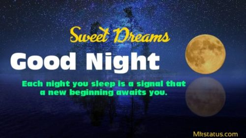 Beautiful Good night sweet dreams quotes images