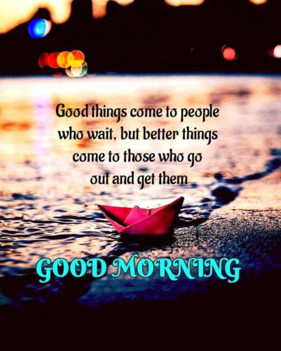 Good Morning motivational quotes images