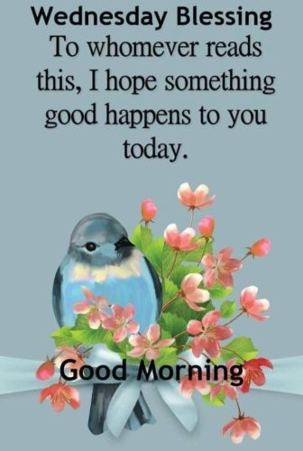 Wednesday Good Morning wishes Quotes images