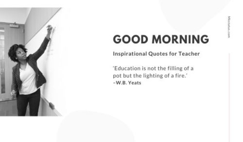 Download good morning teacher inspirational quotes