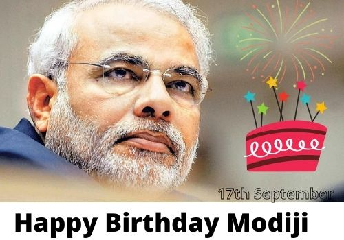 Download Happy Birthday Narendra Modi wishes images