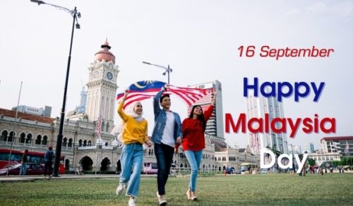 Best Happy Malaysia Day greeting images
