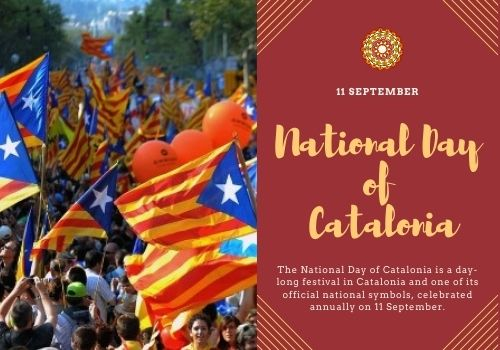 National Day of Catalonia wishes images