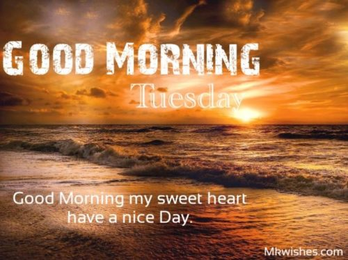 Good Morning Tuesday wishes images quotes
