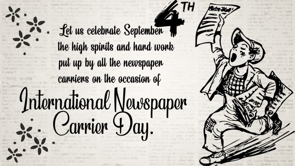 National Newspaper Carrier Day Images