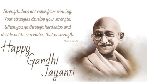 Happy Gandhi Jayanti 2020 Status Pictures