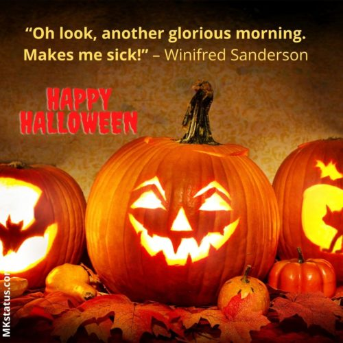 Happy Halloween Famous Sayings Images