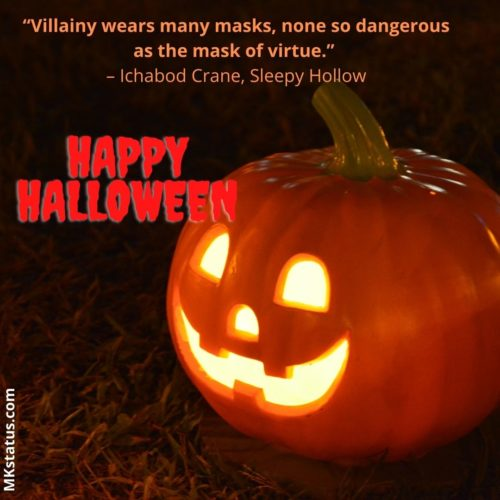 Halloween Sayings for status