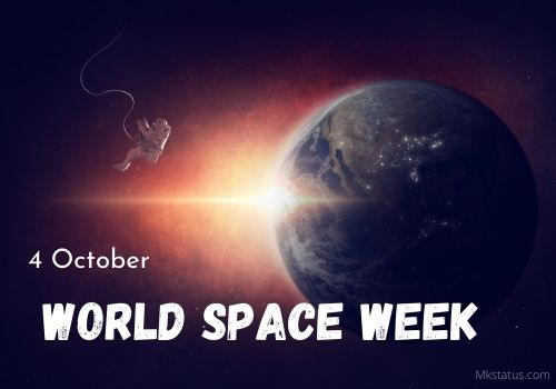 World Space Week wishes images