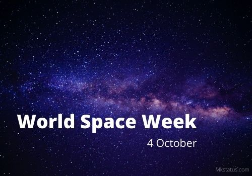 World Space Week images
