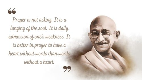 Mahatma Gandhi's Quotes Images