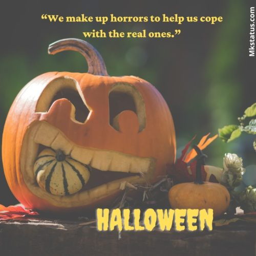 Inspirational Short Halloween Quotes