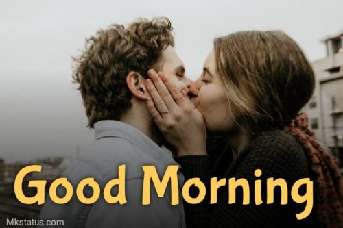 Good Morning Kiss images for whatsapp