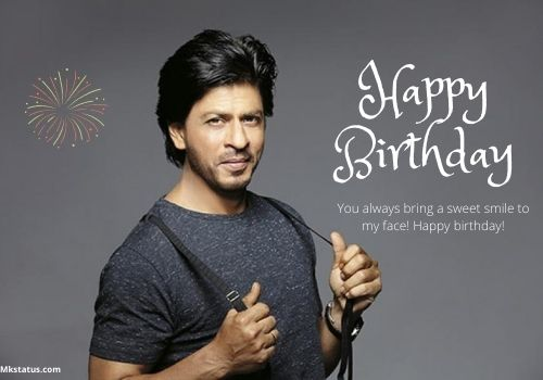 SRK Birthday Wishes Quotes