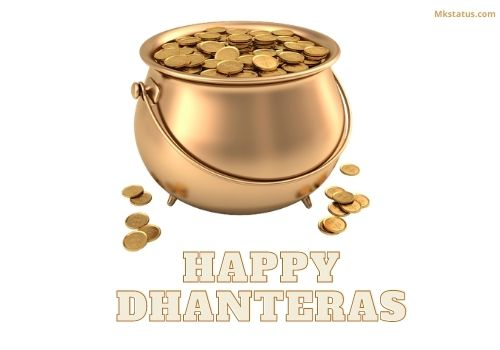 Happy Dhanteras 2020 wishes images for status