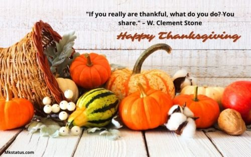 Happy Thanksgiving Quotes in English images