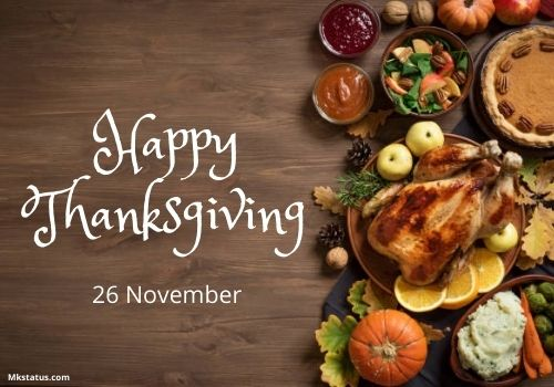 Happy Thanksgiving Day 2020 images for status