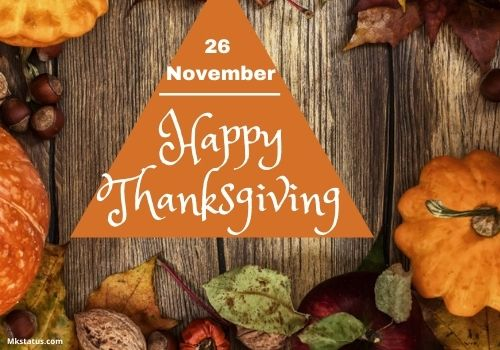 Happy Thanksgiving Day 2020 images for whatsapp