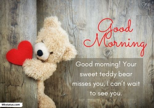 Romantic good morning messages for love