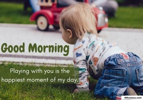 latest Good Morning baby images with quotes