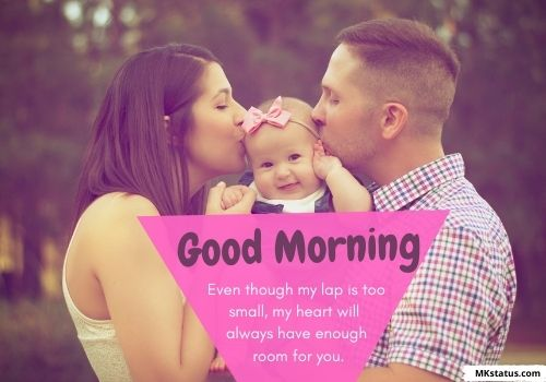 Download Good Morning baby images with messages