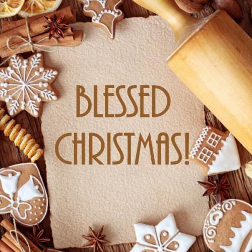 Blessed Merry Christmas wishes images
