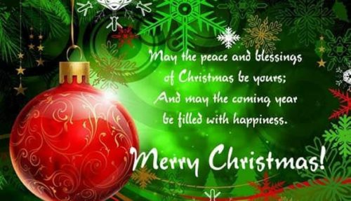 Merry Christmas wishes messages images