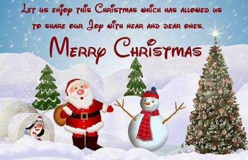 Best Christmas wishes messages images