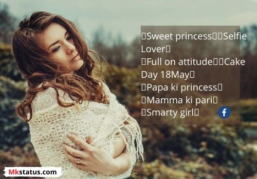 Best Bio For FB for Girls images